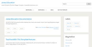 blogger template, kodejarwo desain template dengan fitur loading ringan