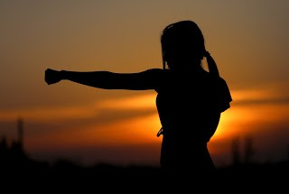 melihat sunset di jogja