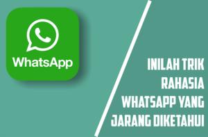trik tersembunyi whatsapp