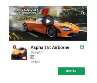 Asphalt 8 racing