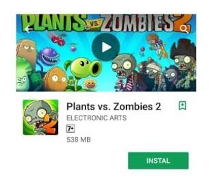 Plants Vs zombies ini permainan arcade paling seru