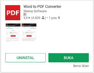 Konvert Word to PDF