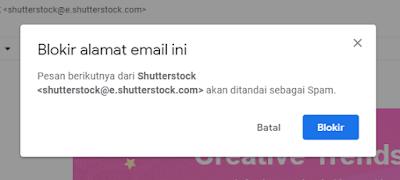 memblokir gmail orang lain
