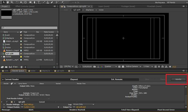 tahapan akhir export video