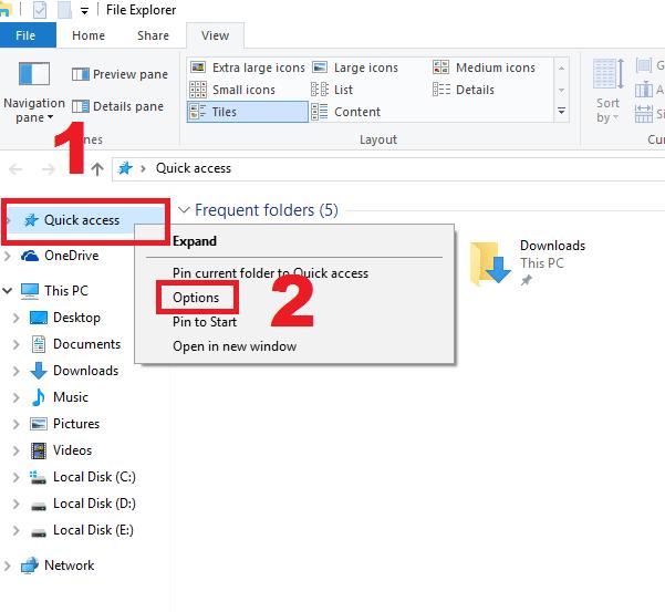 cara menampilkan ekstensi file di windows 10