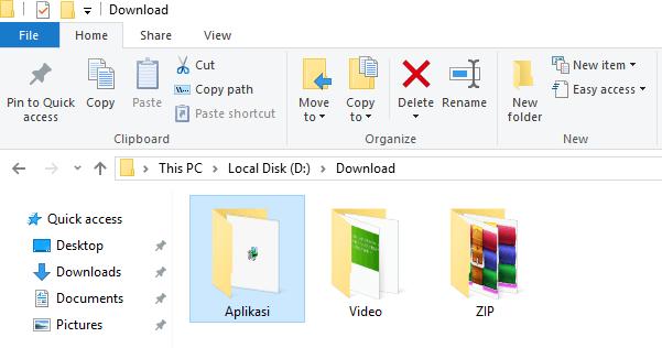 cara kunci password folder berbentu rar dan zip