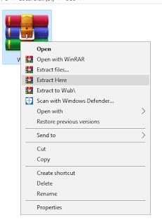ekstrak windows update blocker