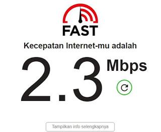 cek jaringan internet apakah stabil