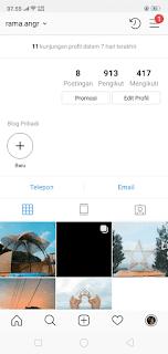 profil instagram kita