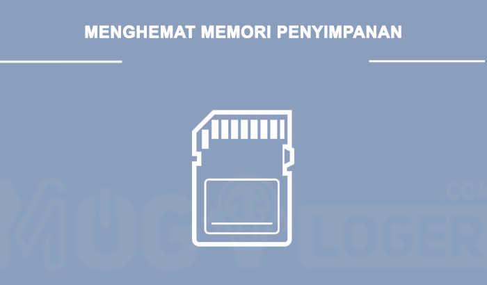 mengosongkan memori internal smartphone