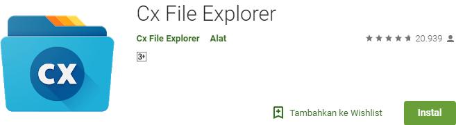 Cx File Explorer