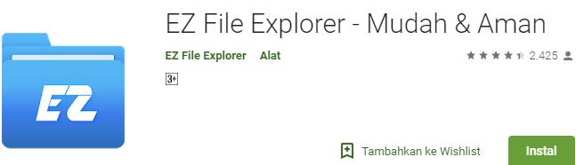 EZ File Explorer - Mudah & Aman