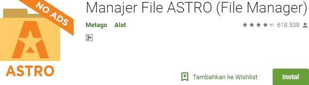 Manajer File ASTRO