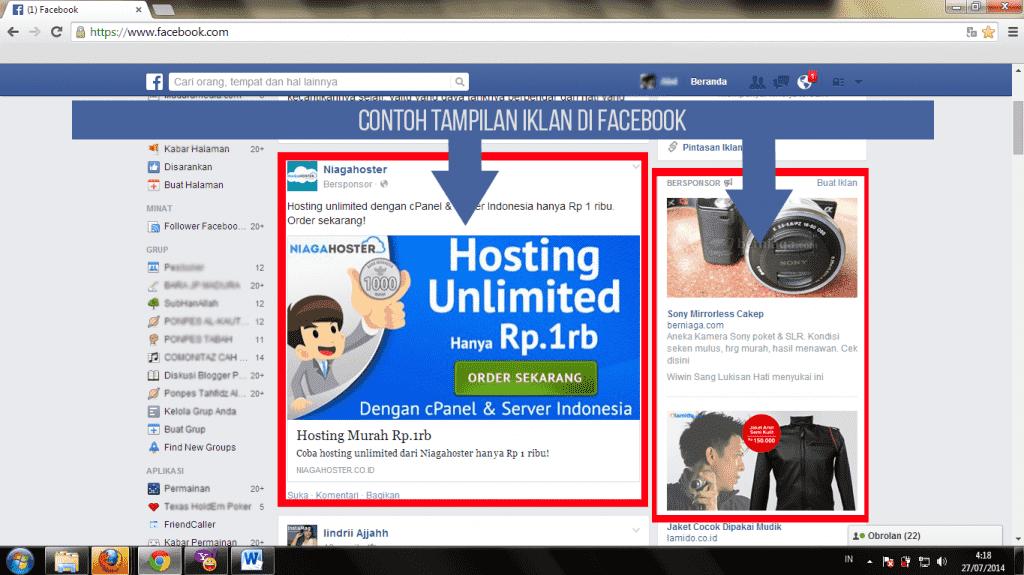 cara promosi di facebook yang efektif