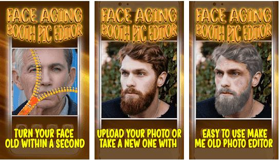 Aplikasi Wajah Tua dan Muda