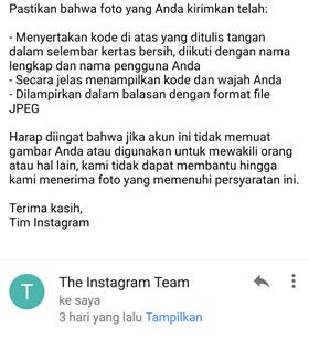 cara mengaktifkan instagram yang dinonaktifkan oleh pihak instagram