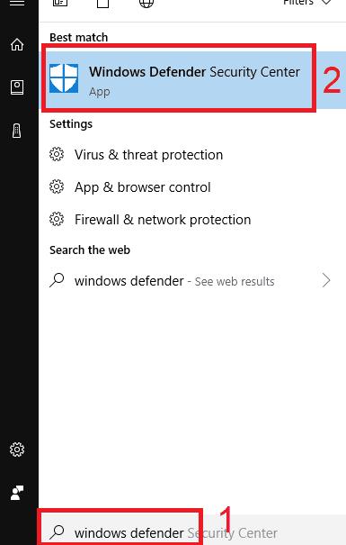 cara mengaktifkan window defender