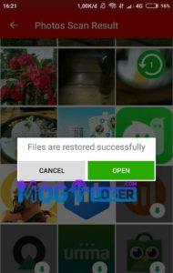 cara mengembalikan file yang terhapus di memory card