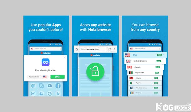 hola vpn - Aplikasi VPN Terbaik