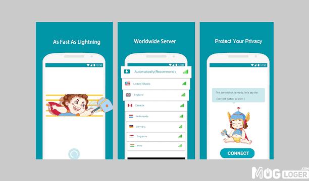 thunderVPN - Aplikasi VPN Terbaik