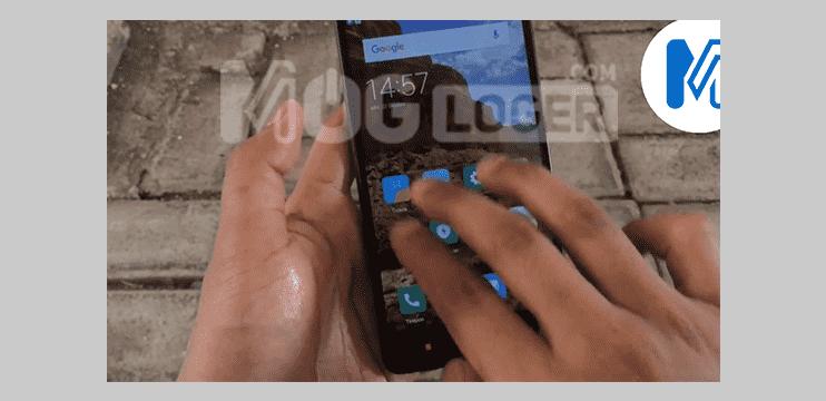 xiaomi screenshot menggunakan usap tiga jari