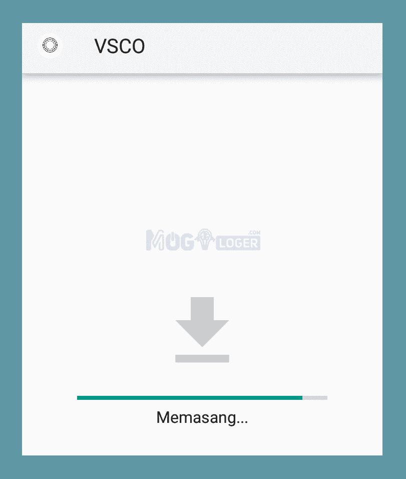 install ulang vsco