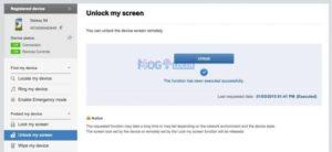Cara Membuka Pin Hp Samsung dengan aplikasi find my mobile