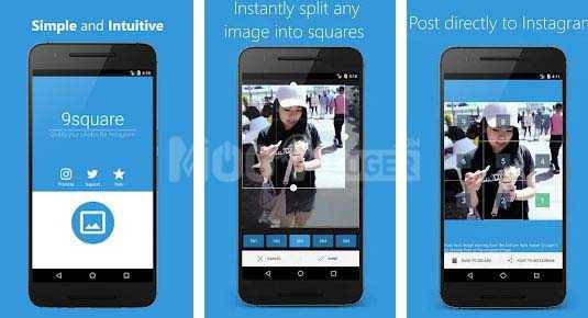 cara menggunakan Grids untuk Instagram