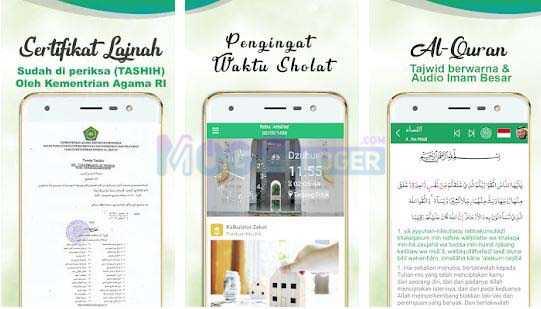 Panduan Muslim: Waktu Shalat, Azan, Quran & Qibla android