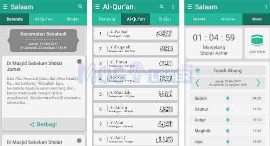 aplikasi salaam android