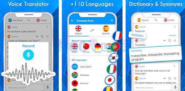 cara menggunakan translate voice