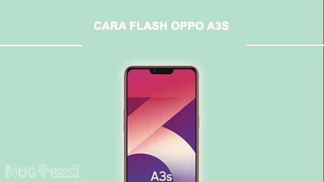 cara flashing oppo a3s via qfil dan sd card