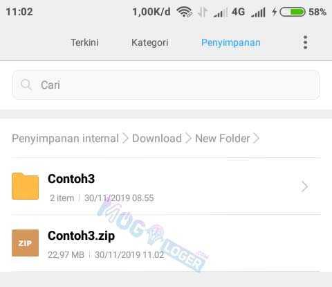 file zip siap digunakan di redmi
