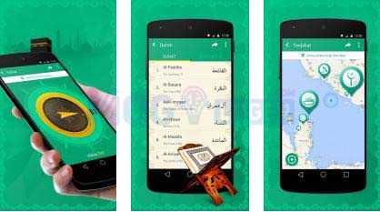 iMuslim Quran, Azan, Kiblat android