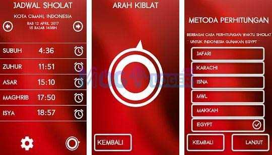aplikasi jadwal sholat indonesia android