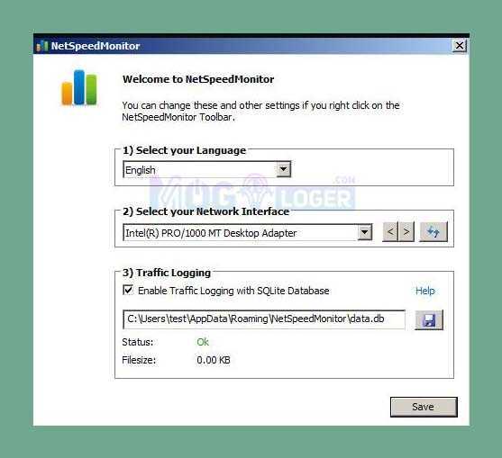 internet speed monitor untuk windows xp, vista dan 7