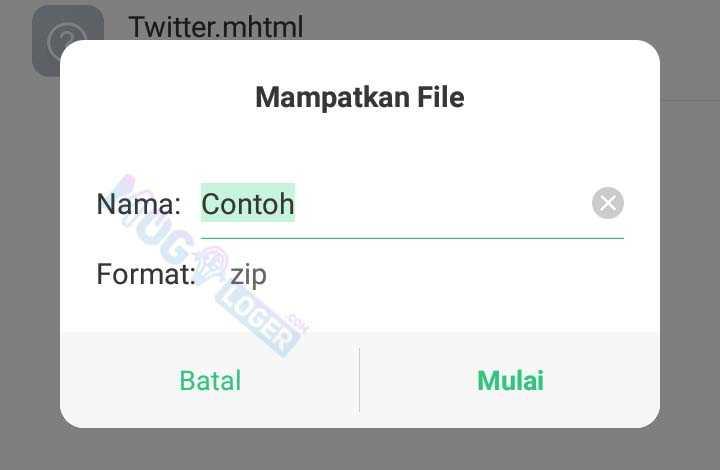 ubah nama sesuai kebutuhan