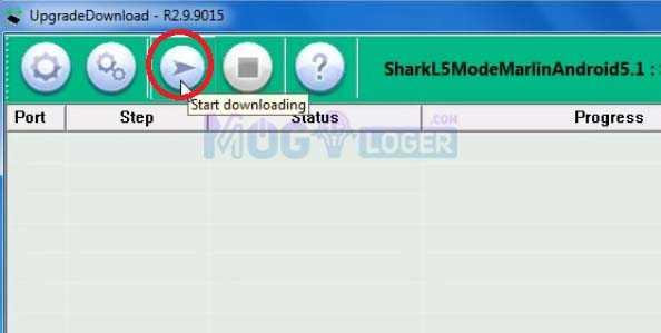 start downloading