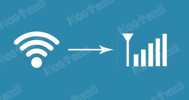 mengubah wifi ke data seluler