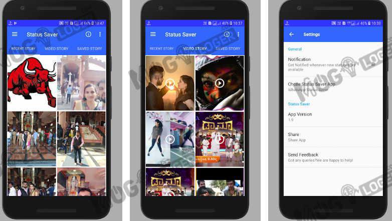 aplikasi Status Saver-Image and Video