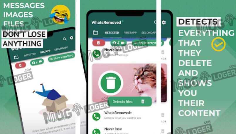 cara menggunakan aplikasi whatsremoved
