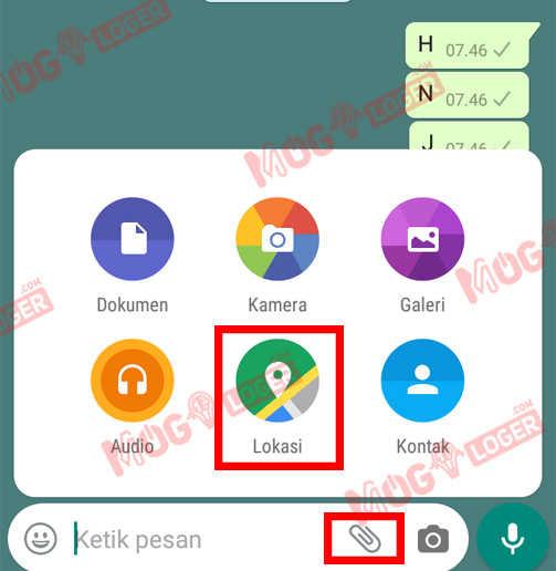 lokasi whatsapp
