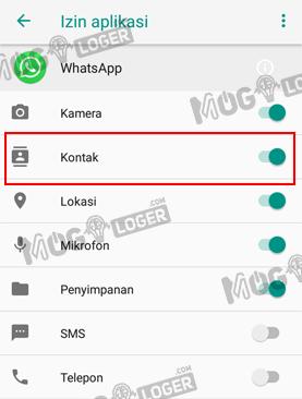 izin kontak aplikasi whatsapp