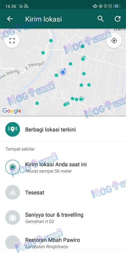 kirim lokasi whatsapp