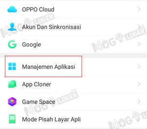 manajemen aplikasi android