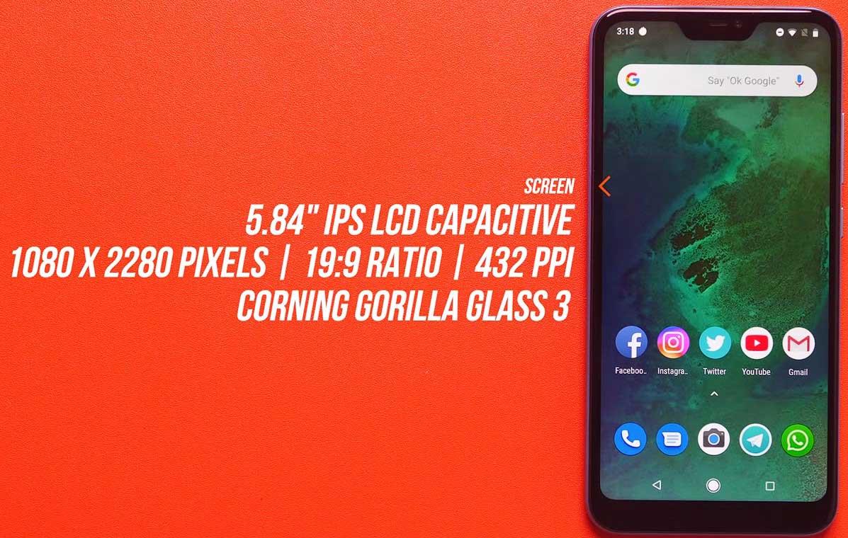 Xiaomi Mi A2 Lite - Xiaomi Di Bawah 2 Jutaan