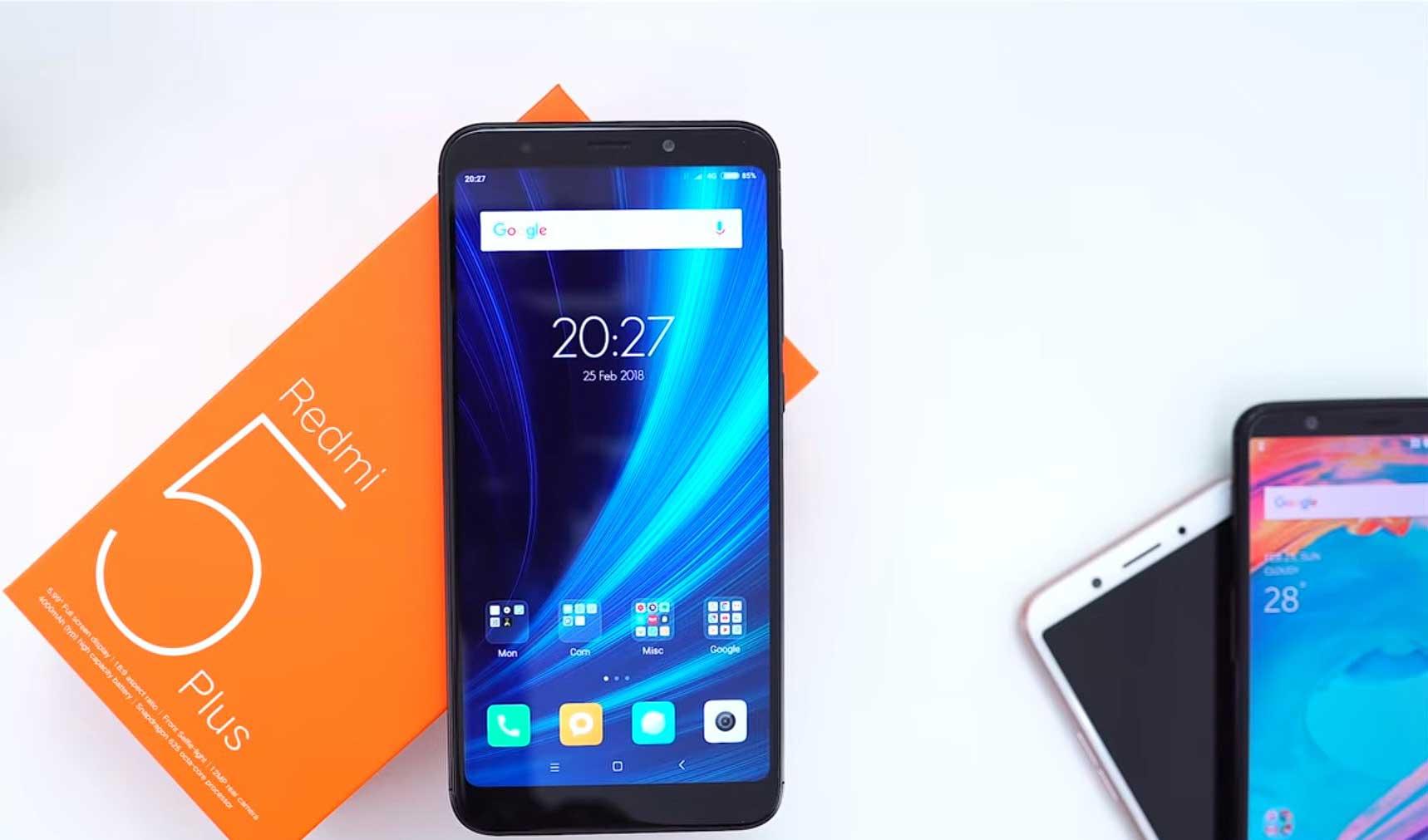 Xiaomi Redmi 5 Plus - Xiaomi Di Bawah 2 Jutaan