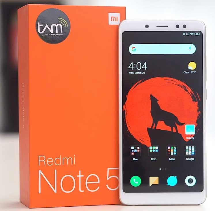 Xiaomi Redmi Note 5 - Xiaomi Di Bawah 2 Jutaan