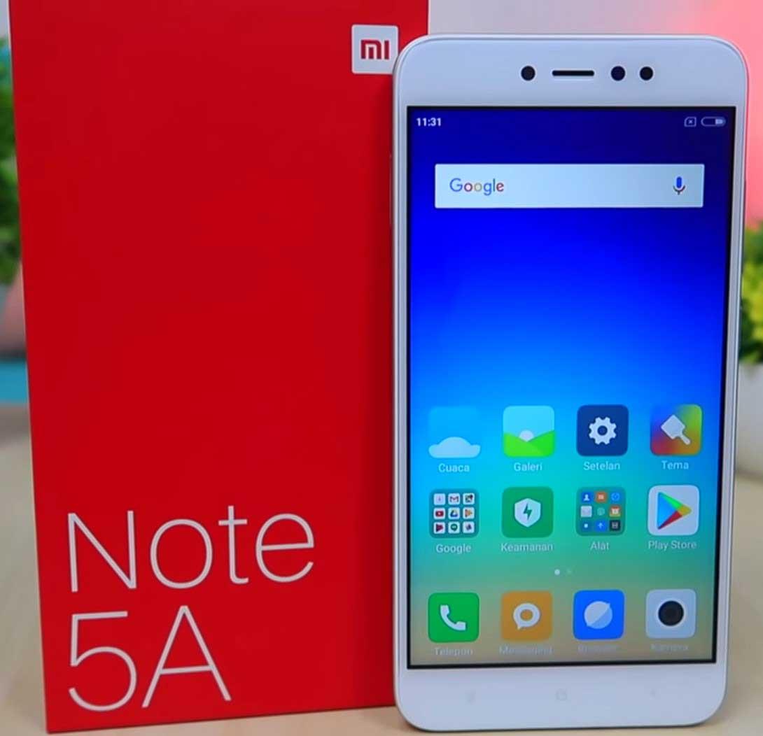 Xiaomi Redmi Note 5a Prime - Xiaomi Di Bawah 2 Jutaan
