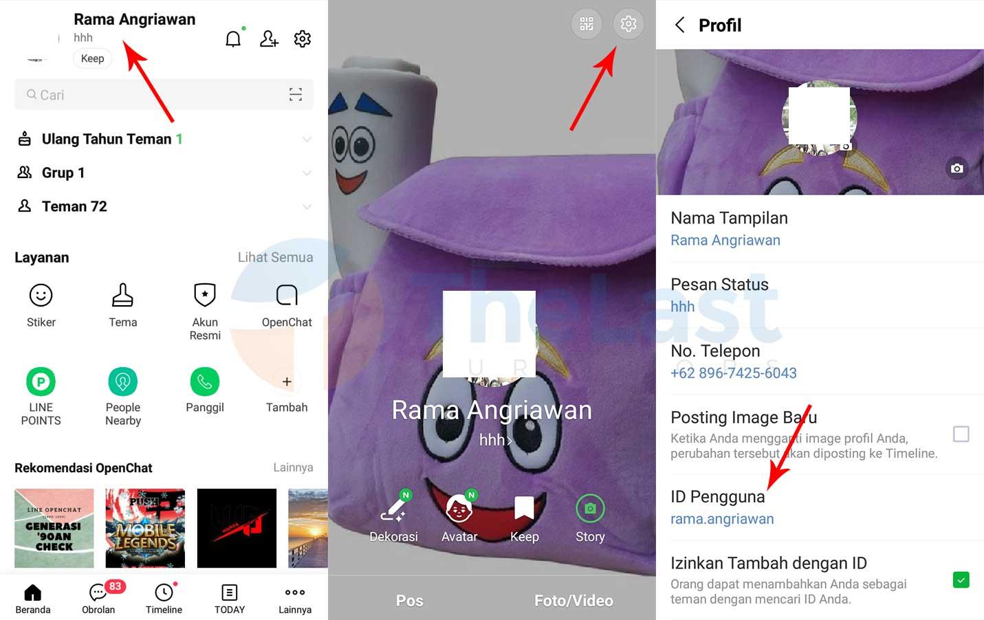 Copy Id Line - Cara Membuat Link Line di Instagram